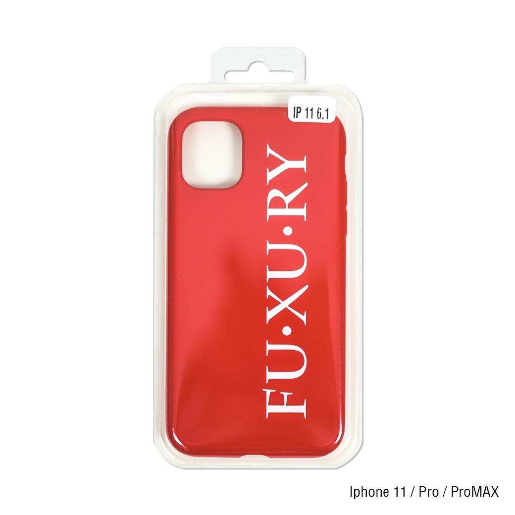 FUXURY LOGO IPHONE CASE RED