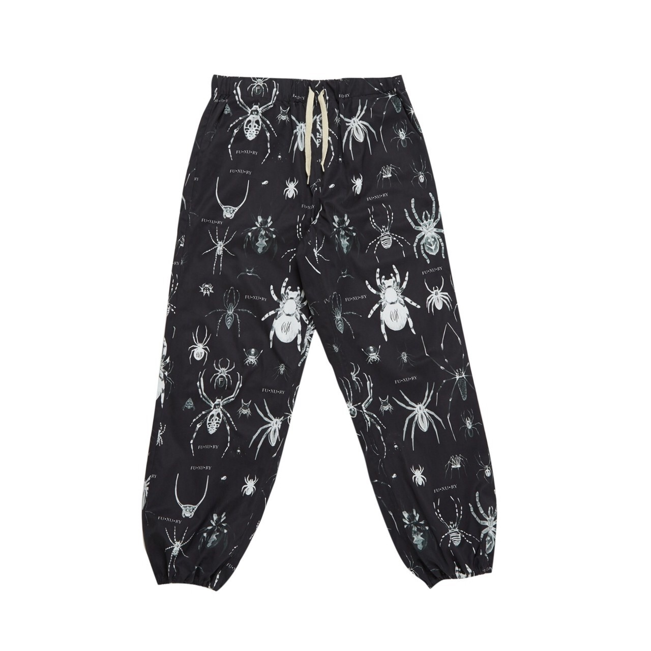 FUXURY TARANTULAS SWEAT PANTS BLACK