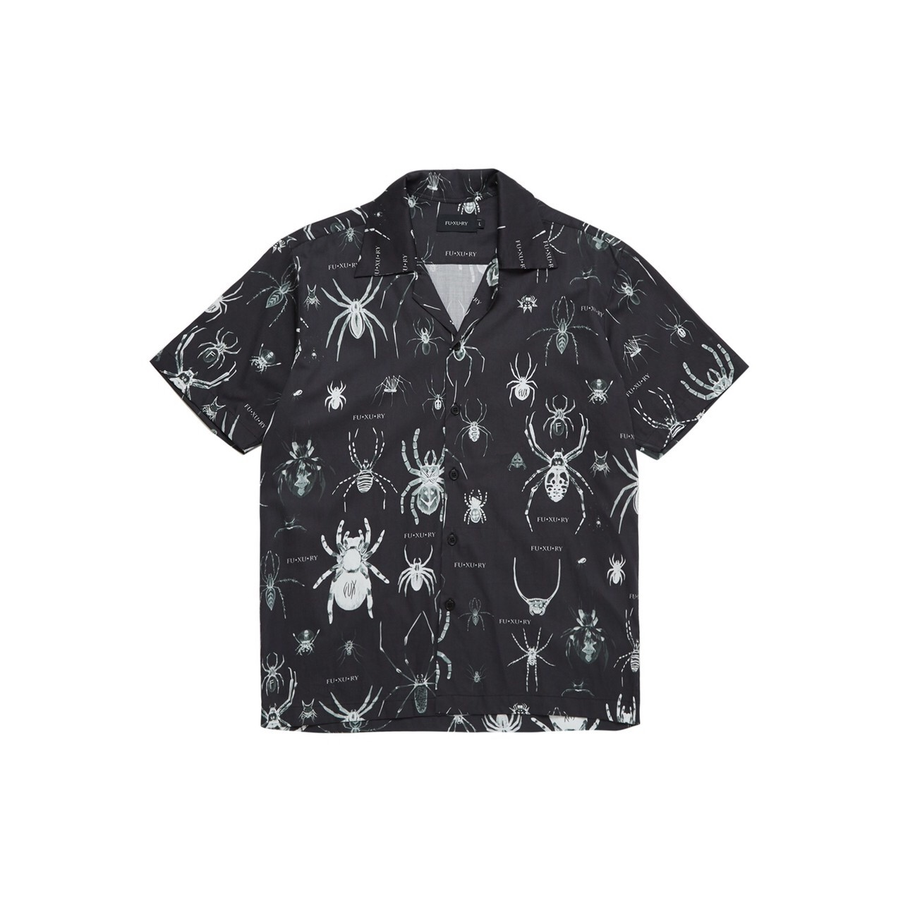 FUXURY TARANTULAS FAM HAWAIIAN SHIRT BLACK