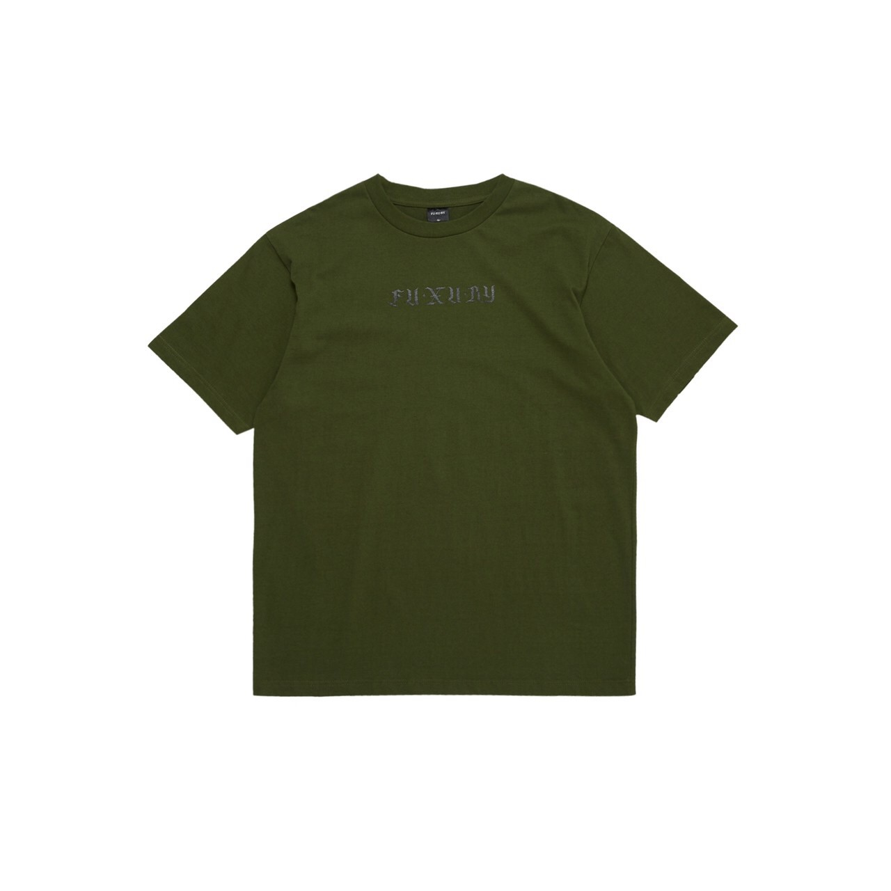 FUXURY BIG SAD T-SHIRT OLIVE