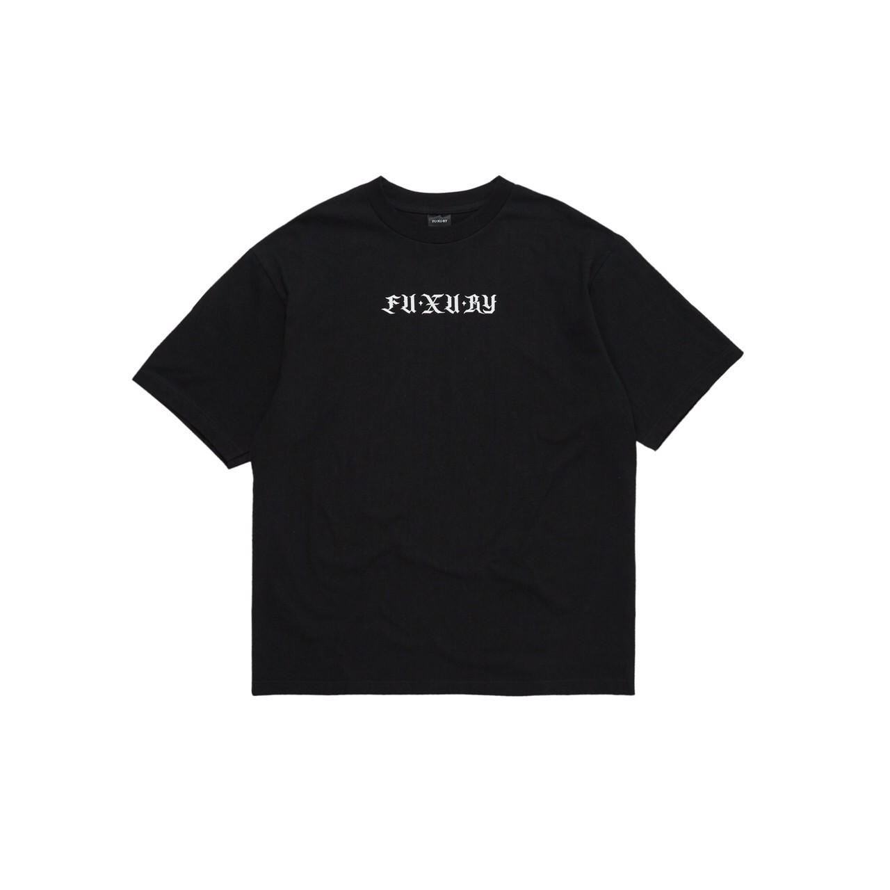 FUXURY BIG SAD T-SHIRT BLACK