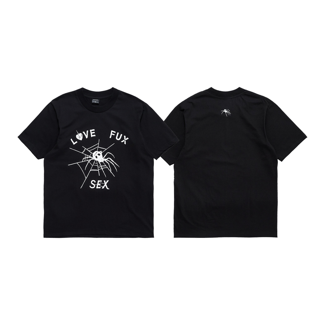 FUXURY LFS T-SHIRT BLACK
