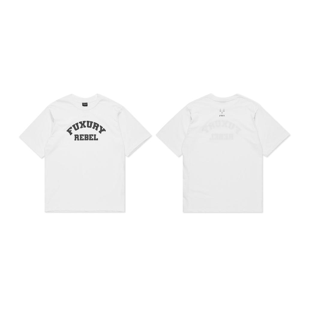 FUXURY REBEL T-SHIRT WHITE
