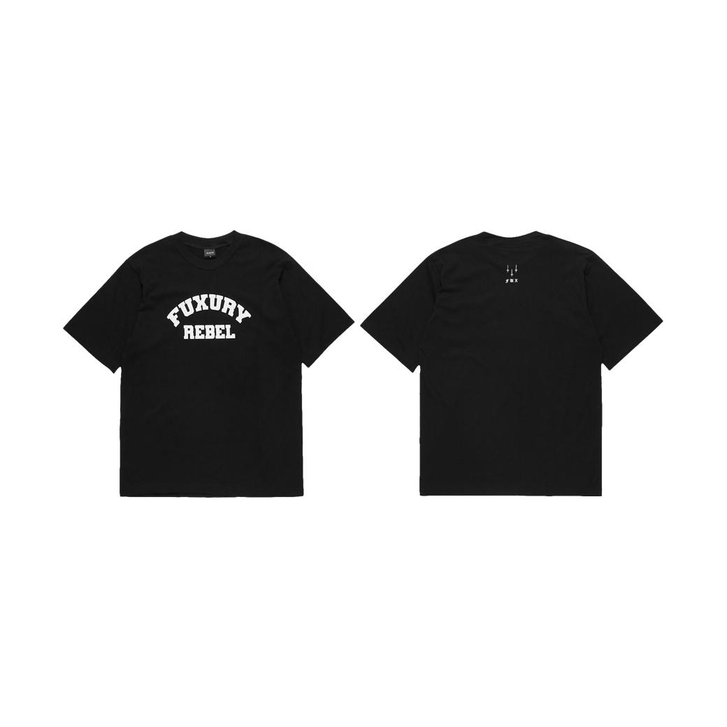 FUXURY REBEL T-SHIRT BLACK
