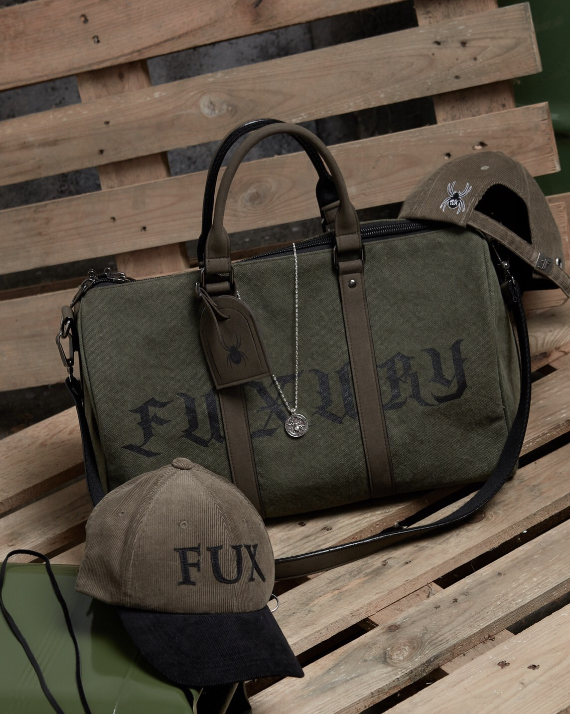 FUXURY BIG SAD DUFFLE BAG
