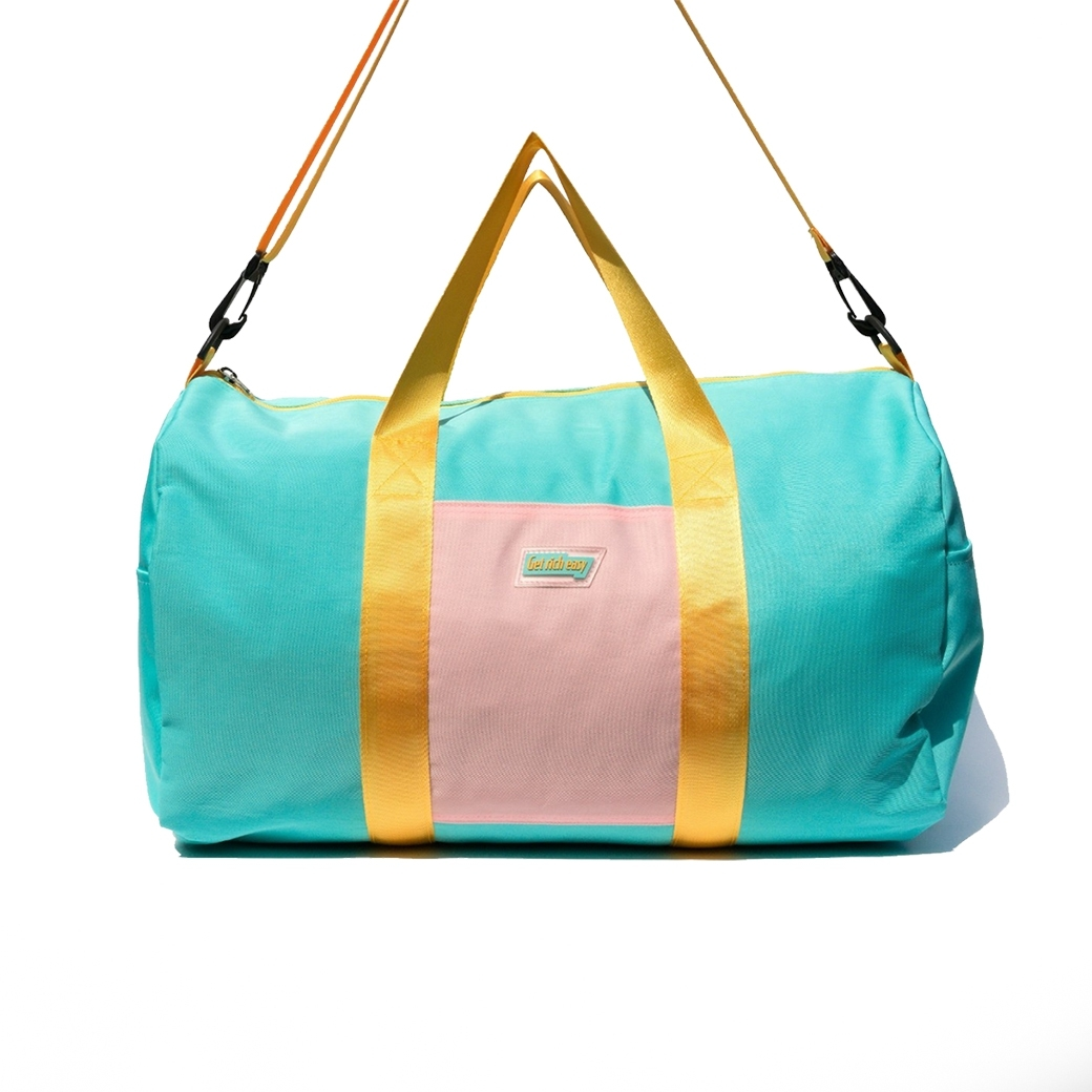 GET RICH EASY DAFFLE BAGS BLUE