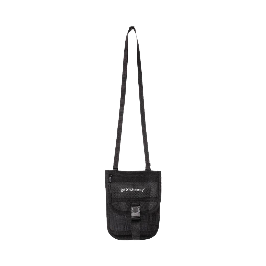 GET RICH EASY OUTDOOR MINI BAG BLACK