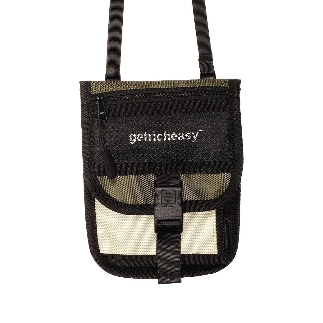 GET RICH EASY OUTDOOR MINI BAG KHAKI/ARMY
