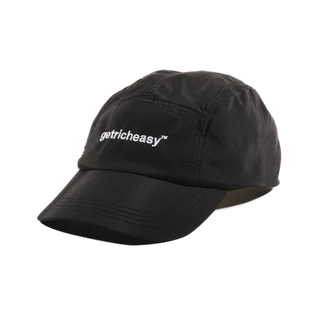 GET RICH EASY OUTDOOR NYLON CAMP CAP BLACK