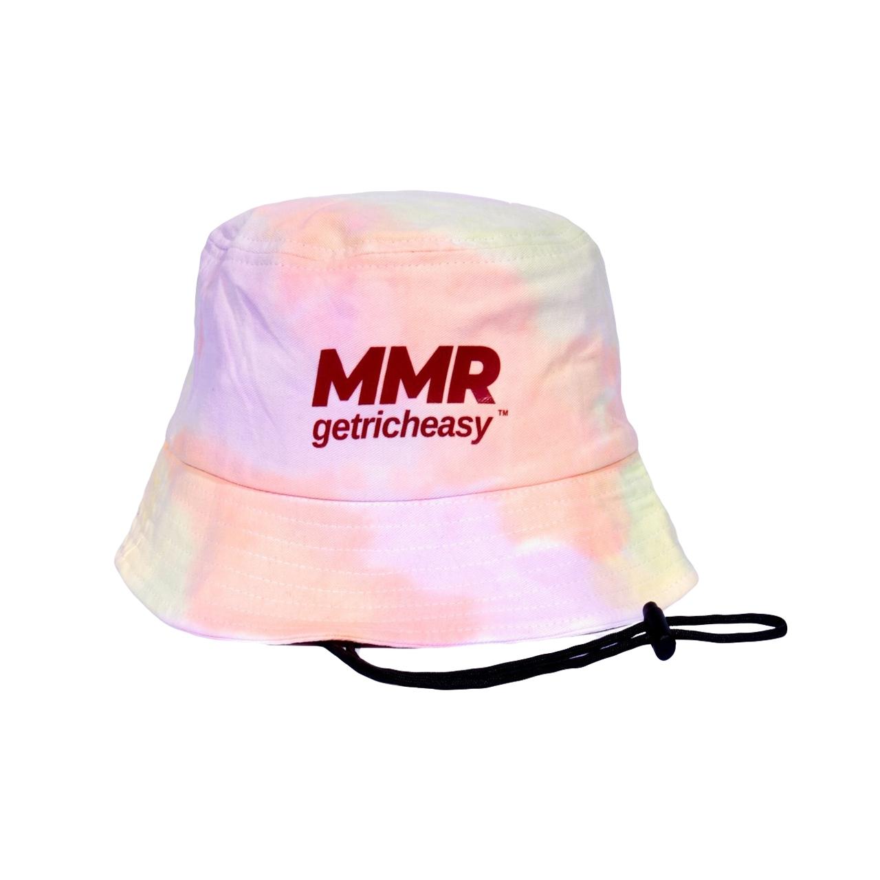 GET RICH EASY X MMR BUCKET HAT CANDY