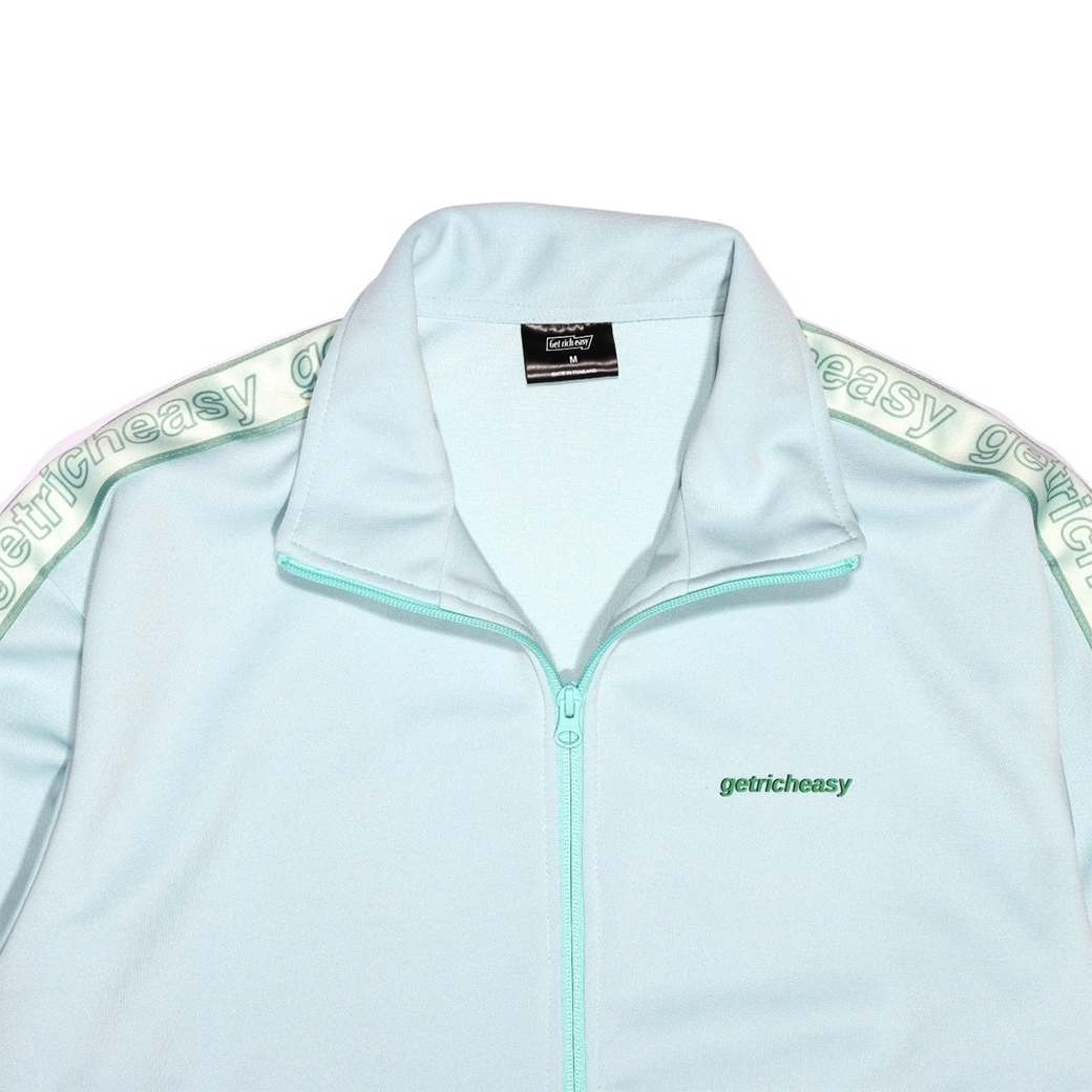 GET RICH EASY TAPED TRACK JACKET MINT