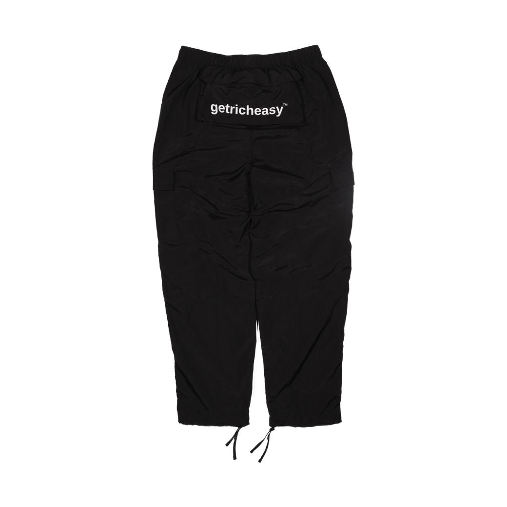 GET RICH EASY OUTDOOR PANTS BLACK