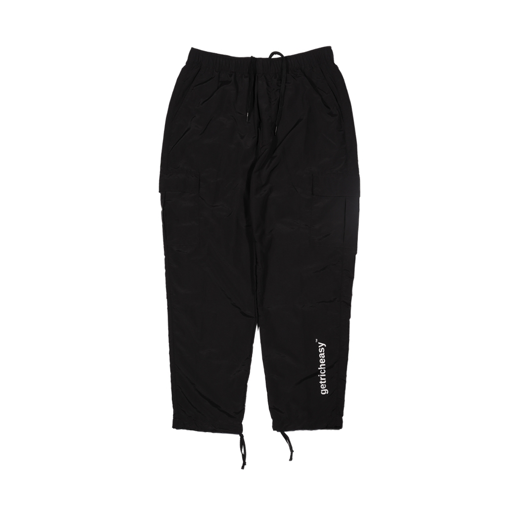 GET RICH EASY OUTDOOR PANTS BLACK