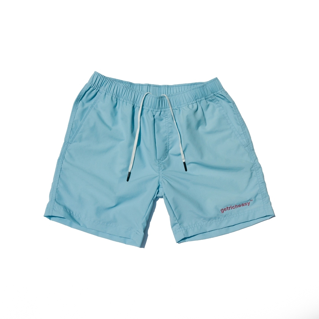 GET RICH EASY WATER SHORT BLUE