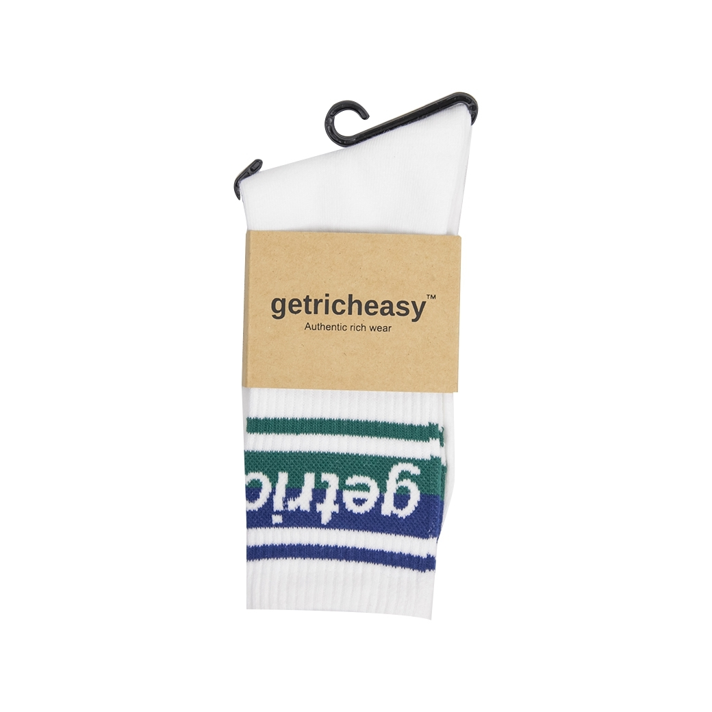 GET RICH EASY SOCK BLACK/GREEN