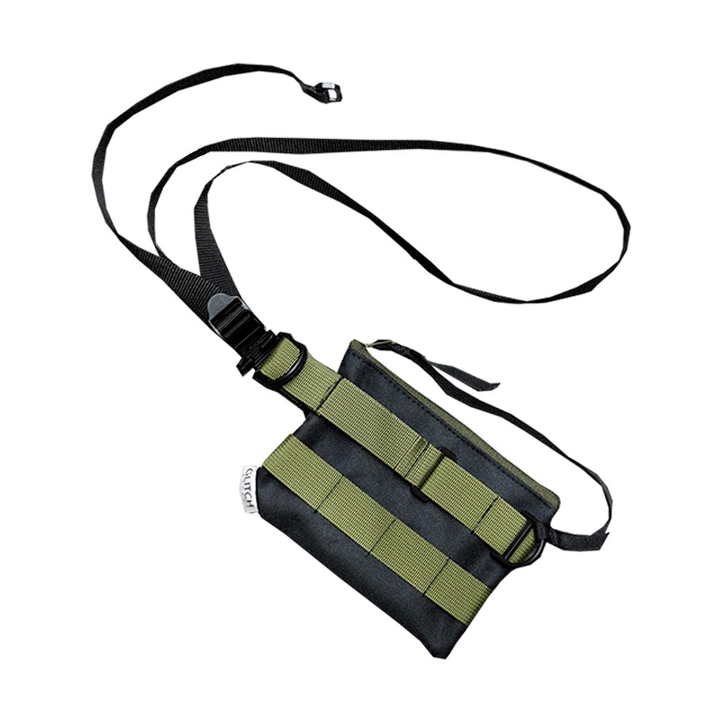 GLITCH EFFECT PS-3S BAG OLIVE GREEN
