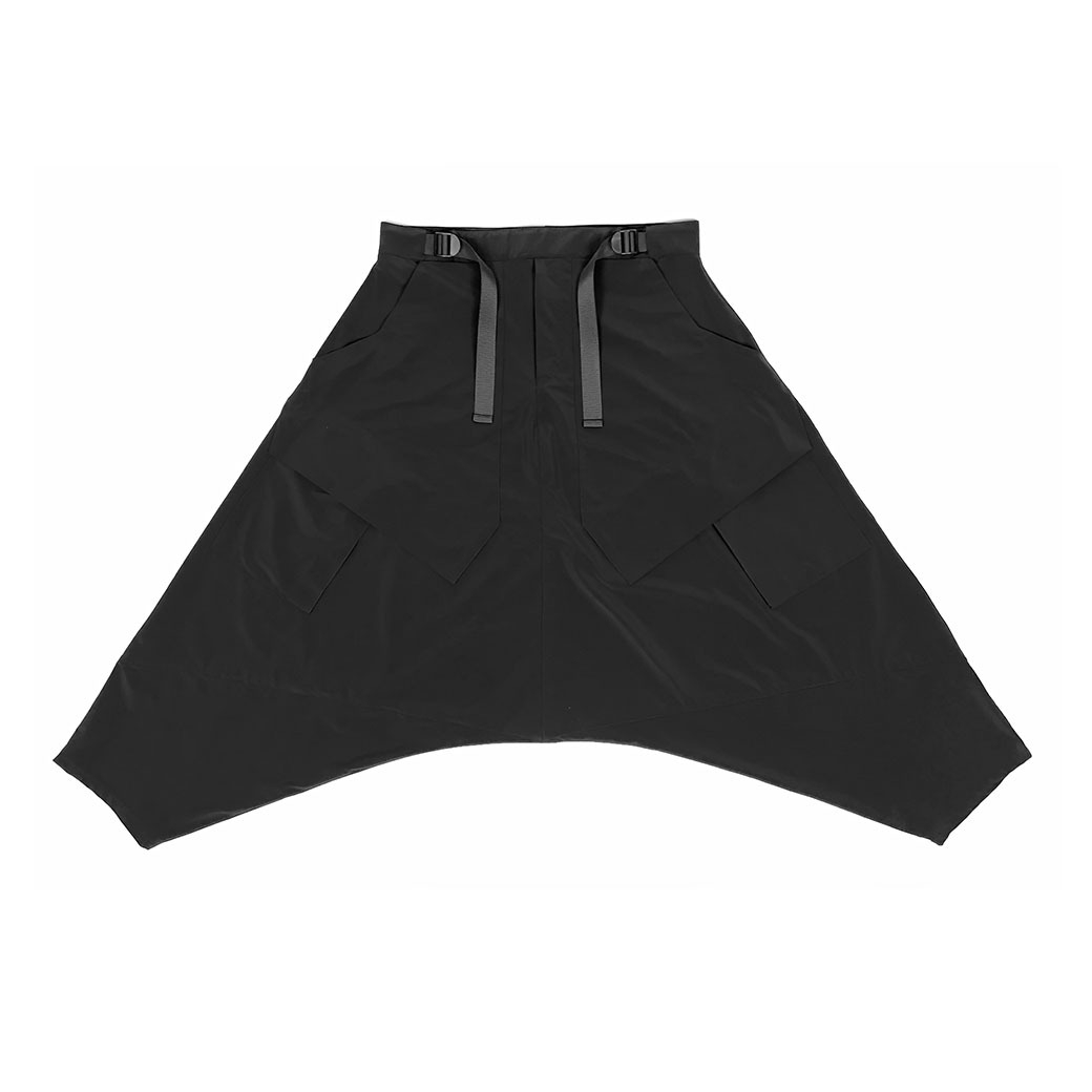 GLITCHEFFECT PN2-DC PANTS BLACK