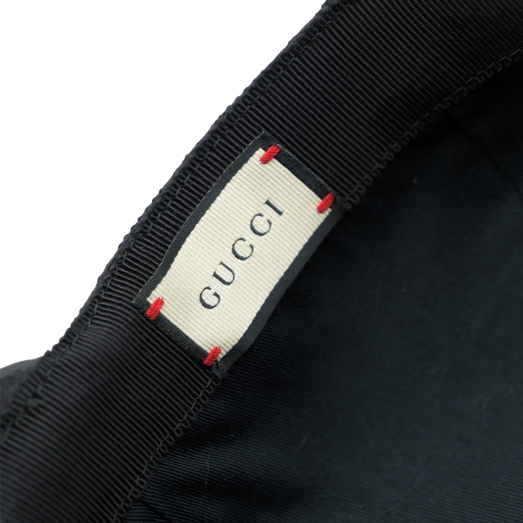GUCCI BASEBALL CAP BLACK