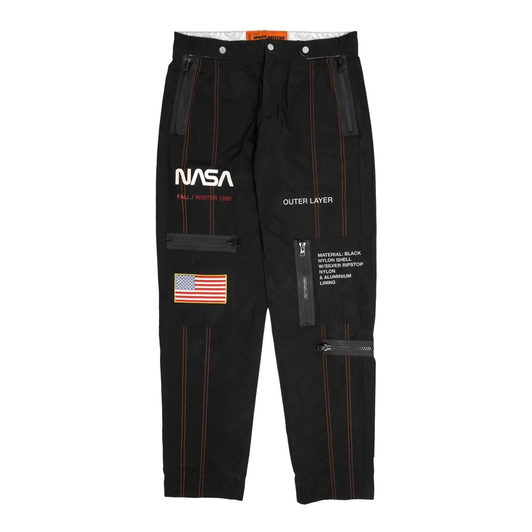 HERON PRESTON X NASA HIGH TECH PANTS BLACK