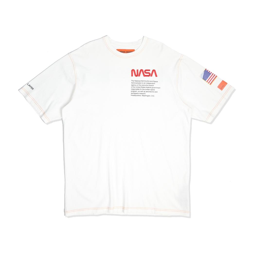 HERON PRESTON X NASA T-SHIRTS WHITE