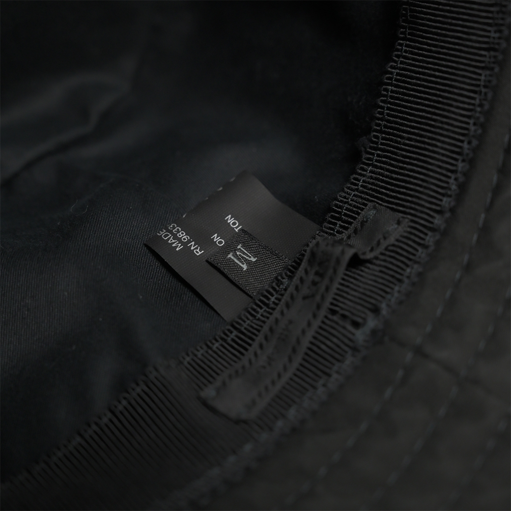 PRADA BUCKET HAT BLACK