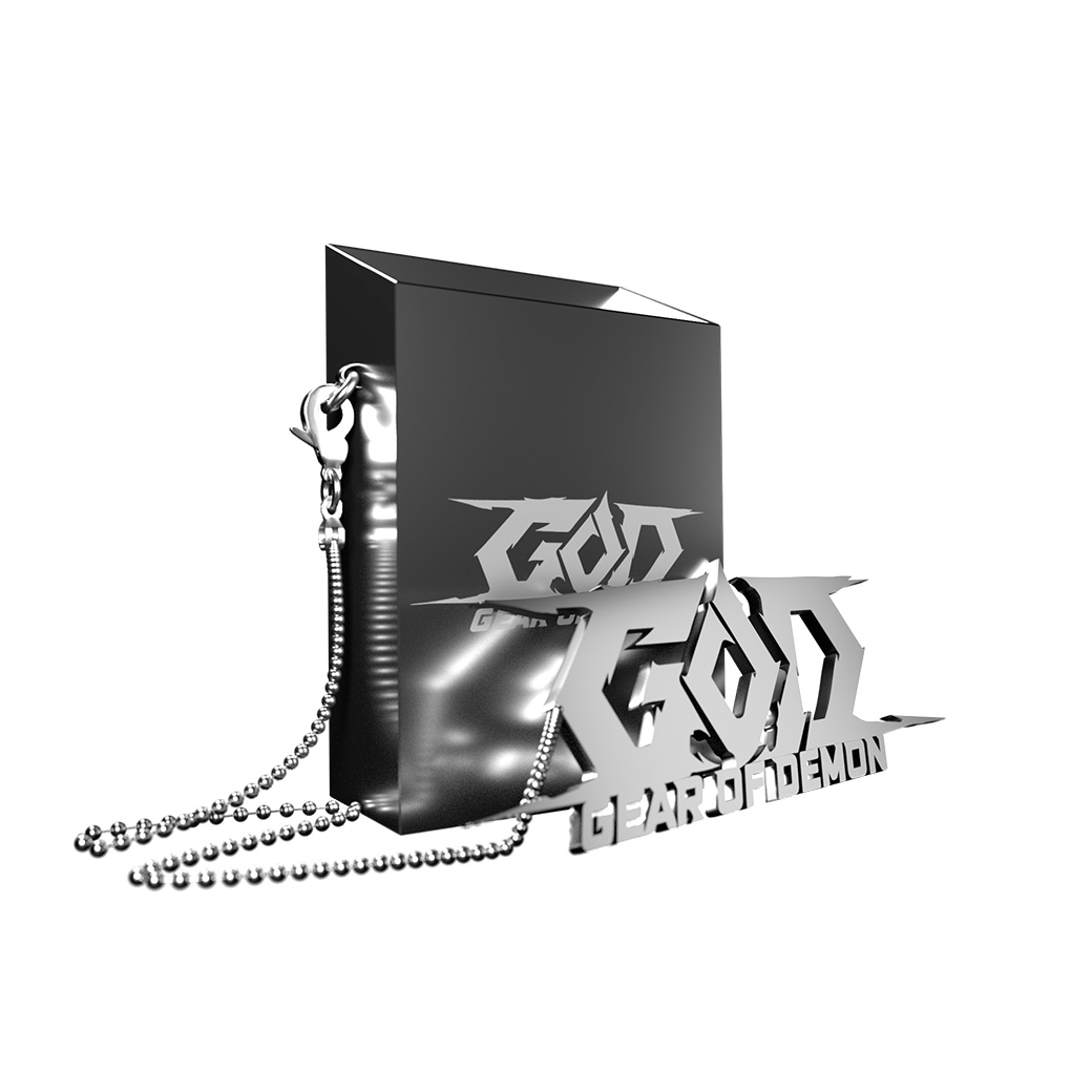 GEAR OF DEMON CIGARETTE CASE
