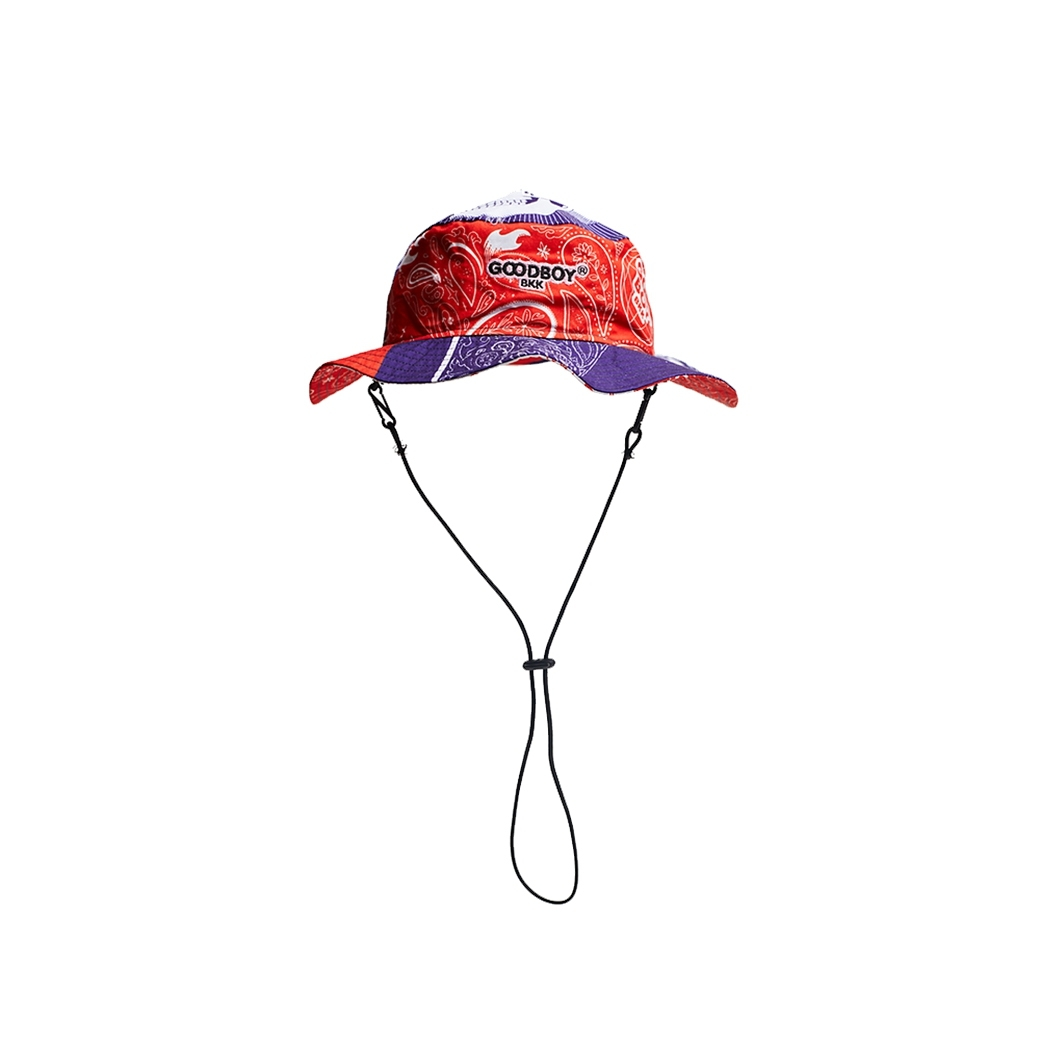 GOODBOY BANDANA PRINTED BUCKET MULTI