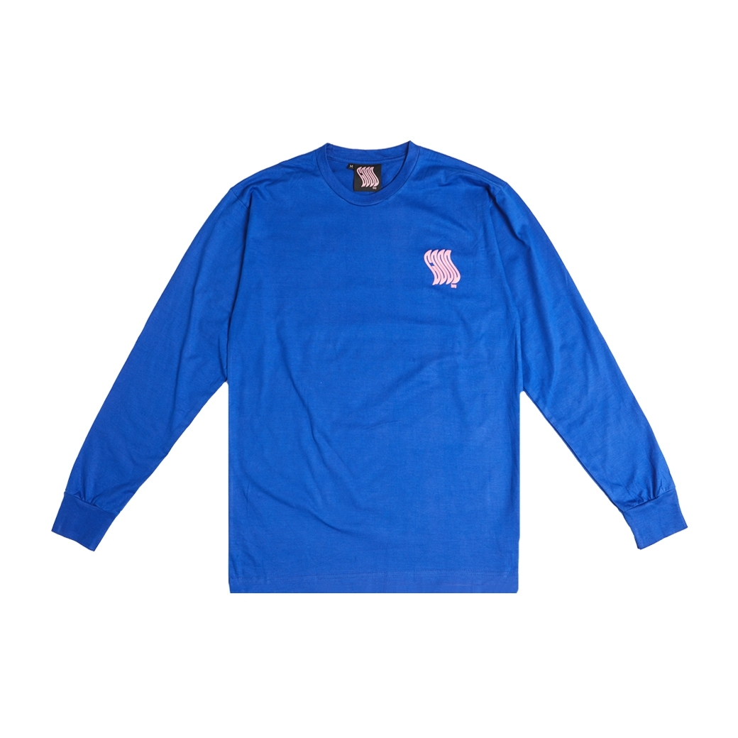 GOODBOY DEAD OR ALIVE L/S TEE BLUE