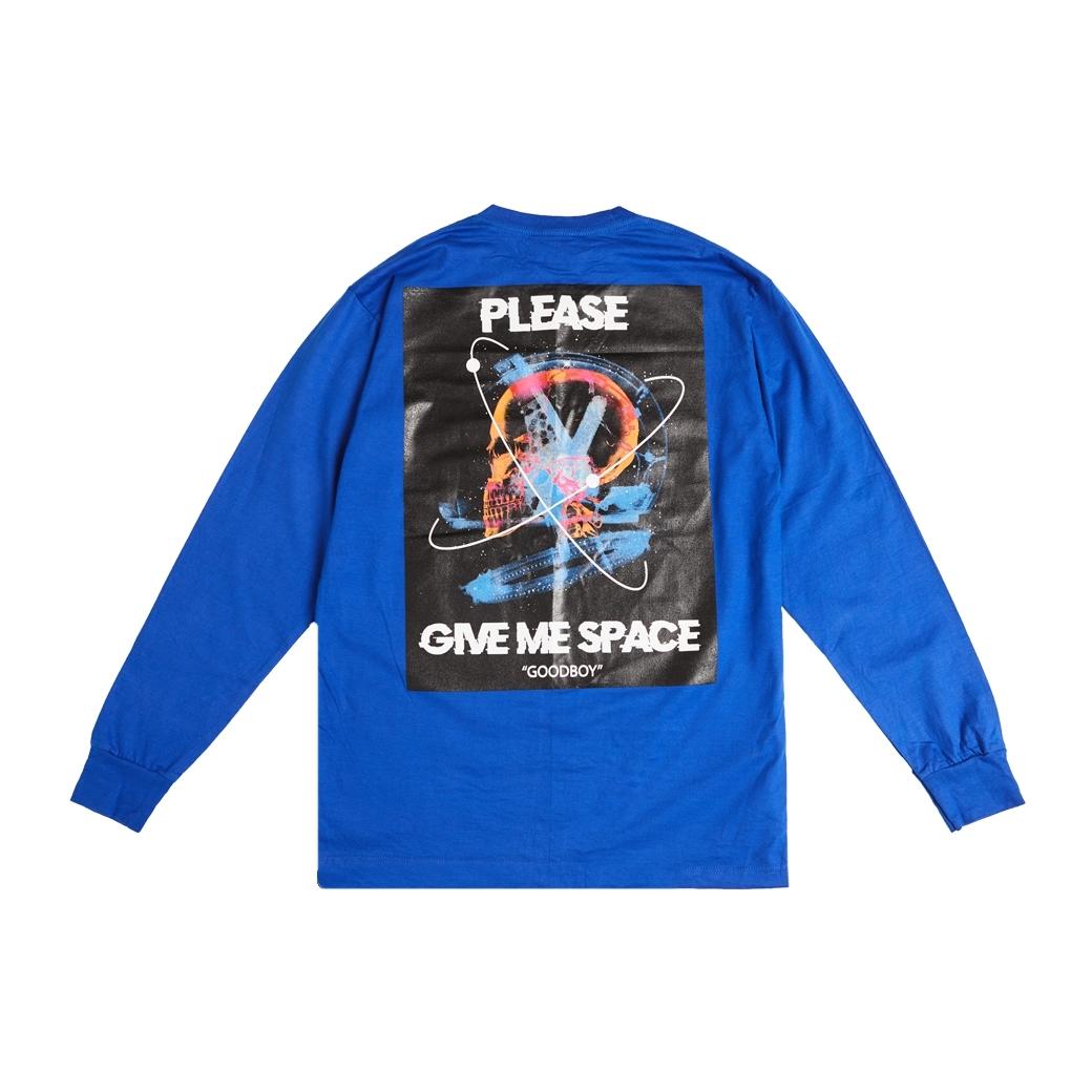 GOODBOY DEAD SPACE L/S TEE BLUE