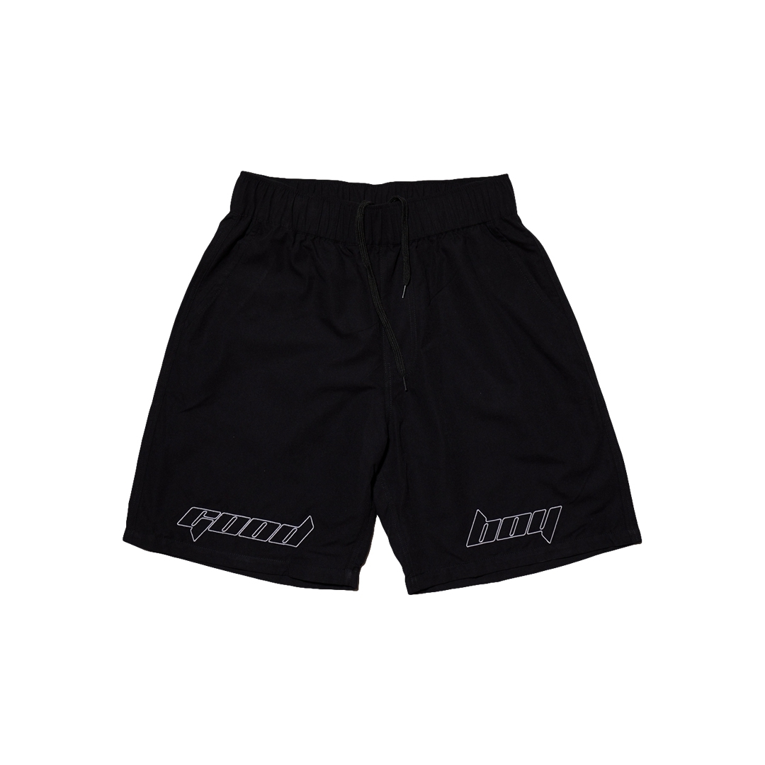 GOODBOY EMB SHORTS BLACK