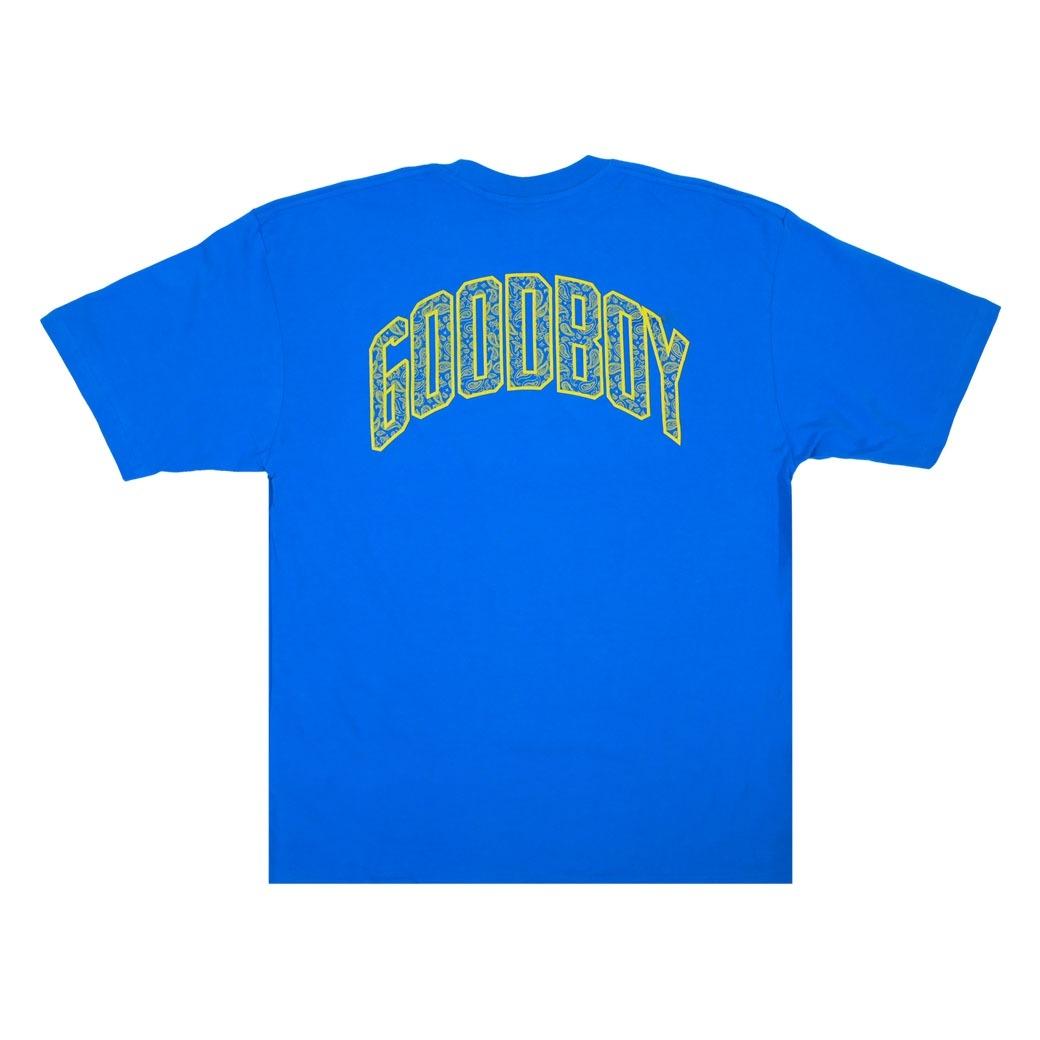GOODBOY BANDANA BASIC T-SHIRT BLUE
