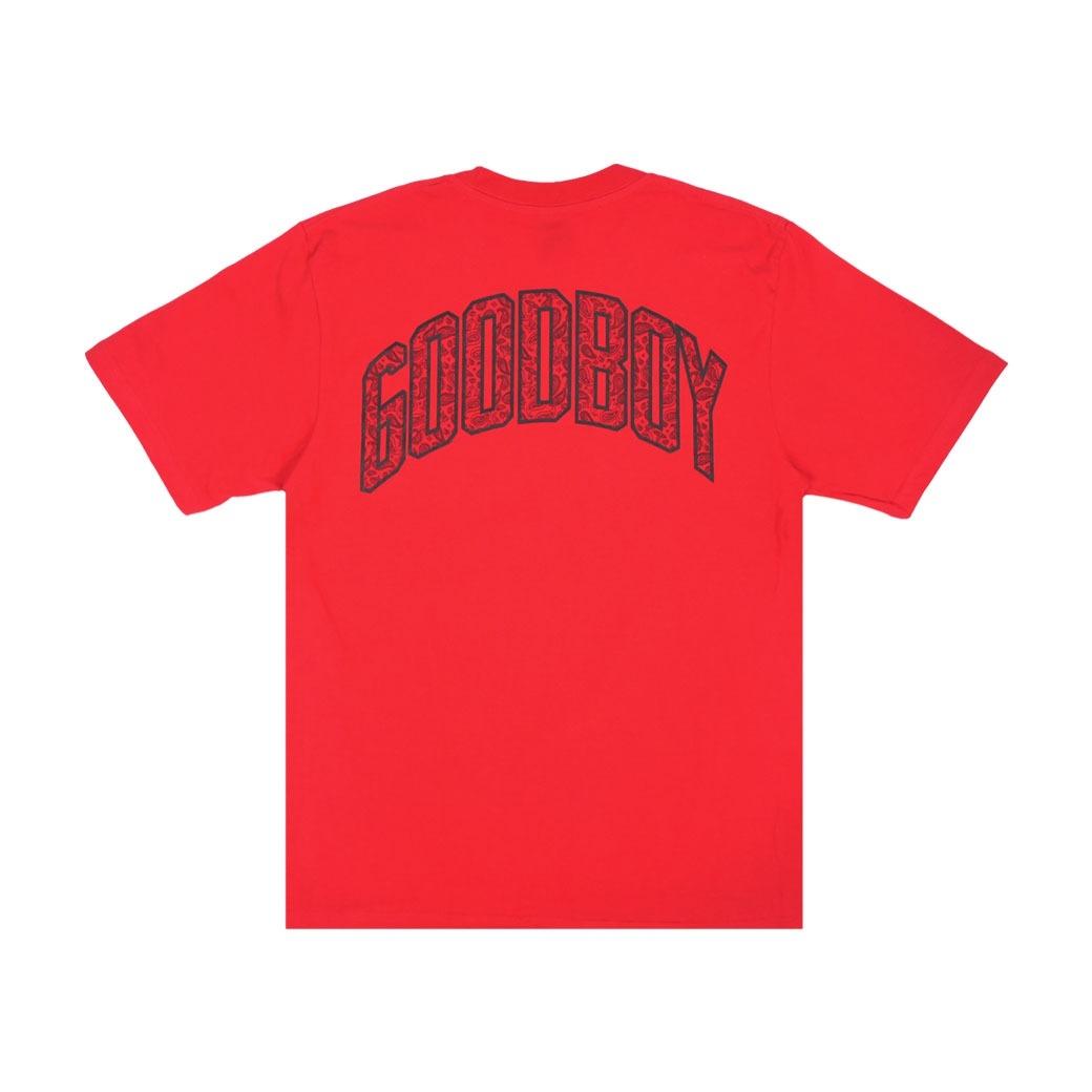 GOODBOY BANDANA BASIC T-SHIRT RED