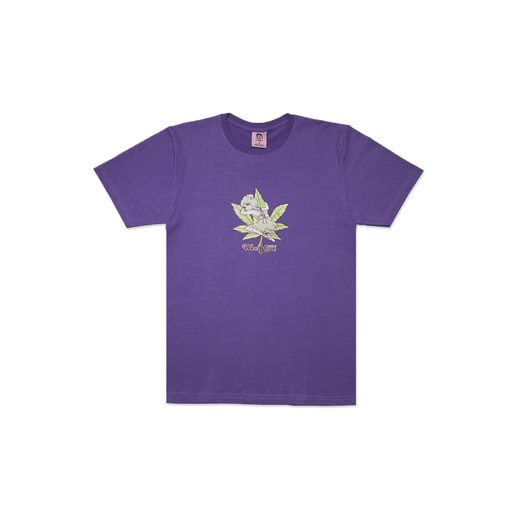 GOODBOY WEED LOVE TEE PURPLE