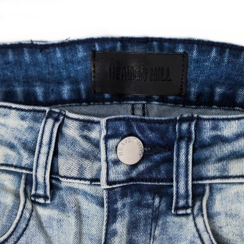 HEAVEN HILL RED STRIP JEANS