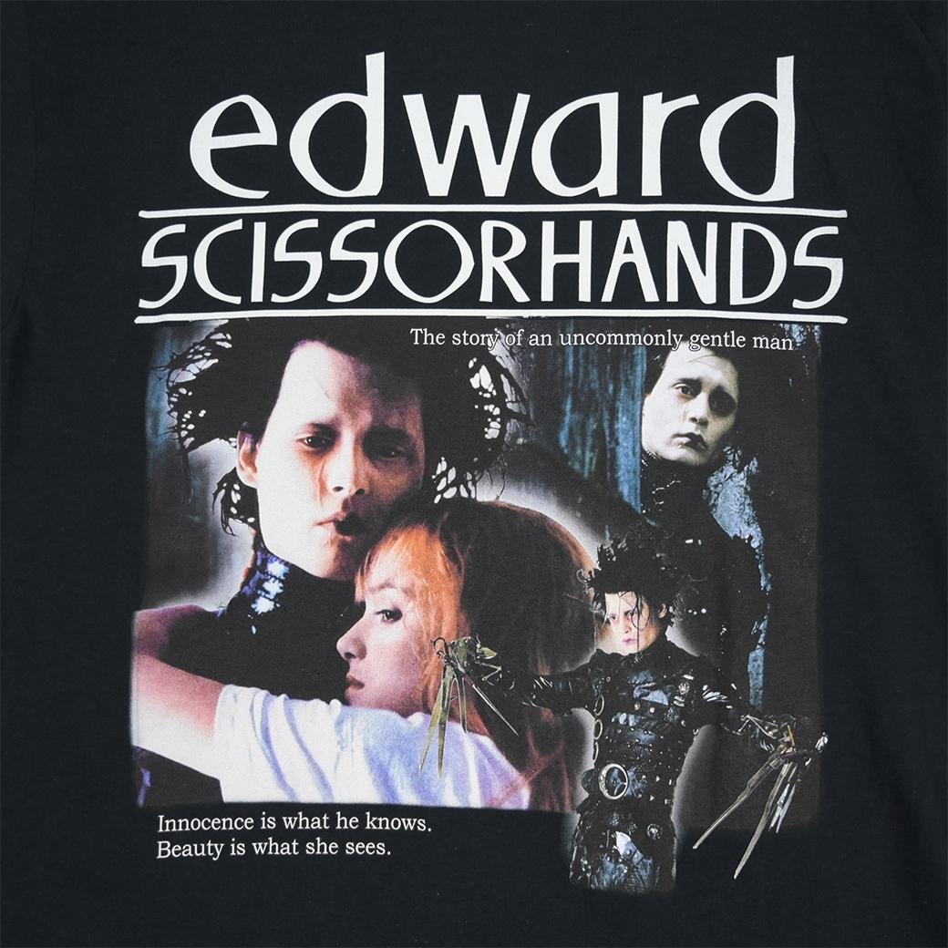 HOMAGE EDWARD SCISSOR HANDS TEE BLACK