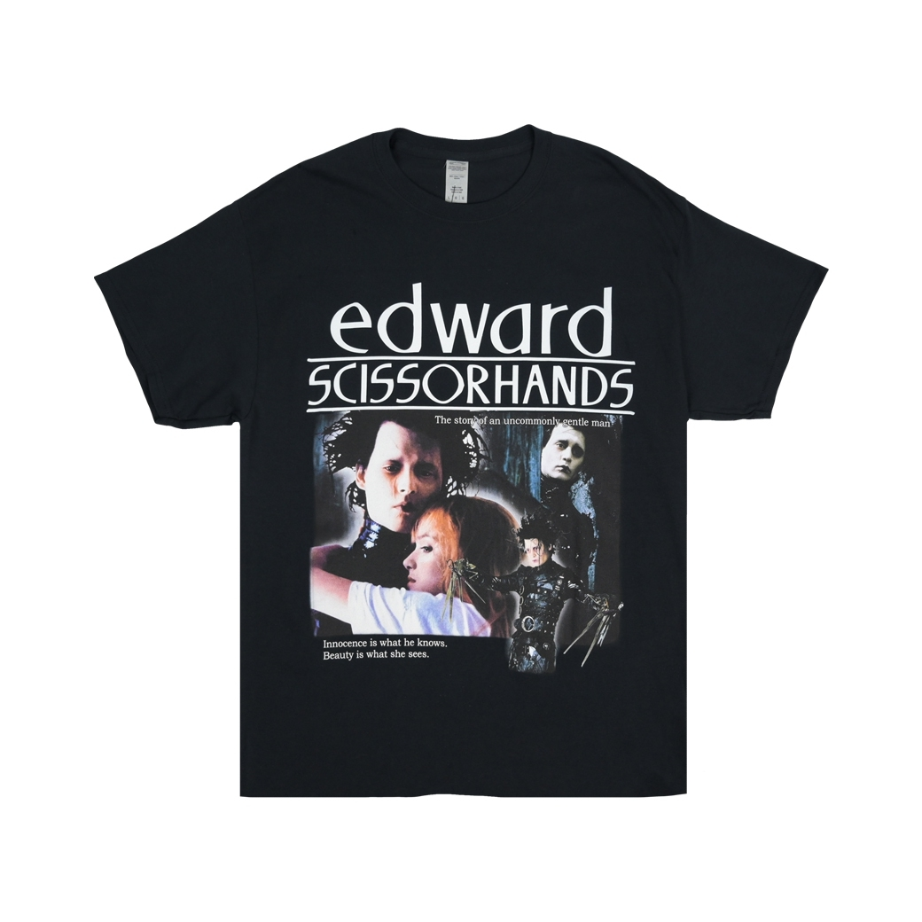HOMAGE EDWARD SCISSOR HANDS TEE BLACK