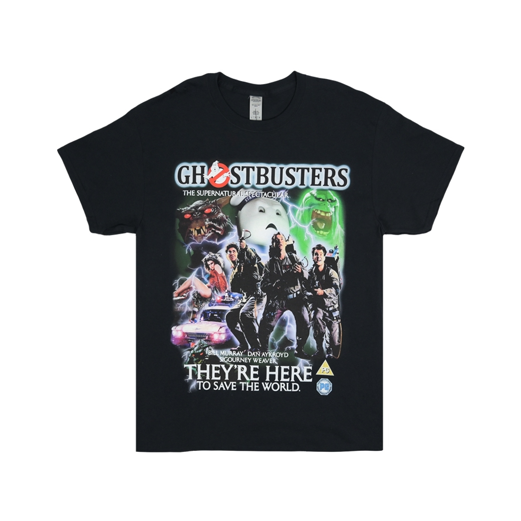 HOMAGE GHOSTBUSTERS TEE BLACK
