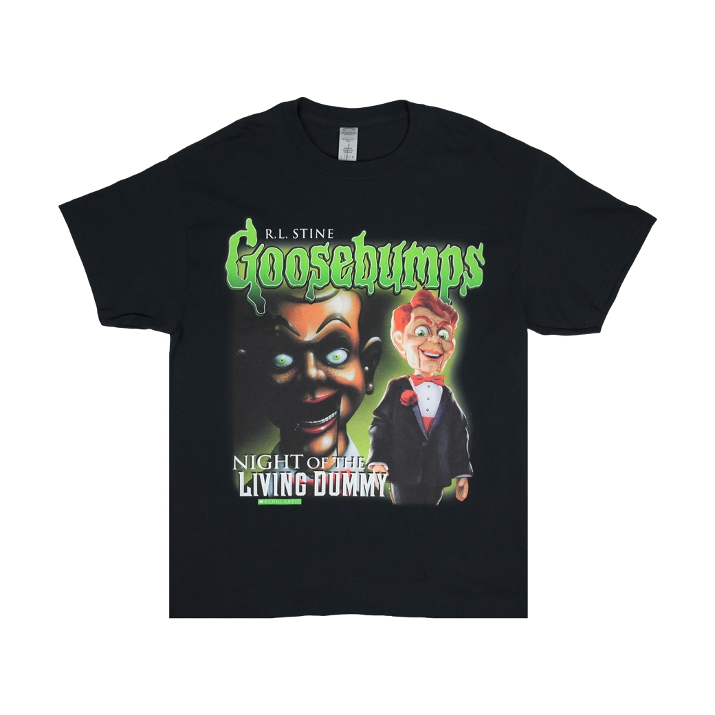 HOMAGE GOOSEBUMPS TEE BLACK
