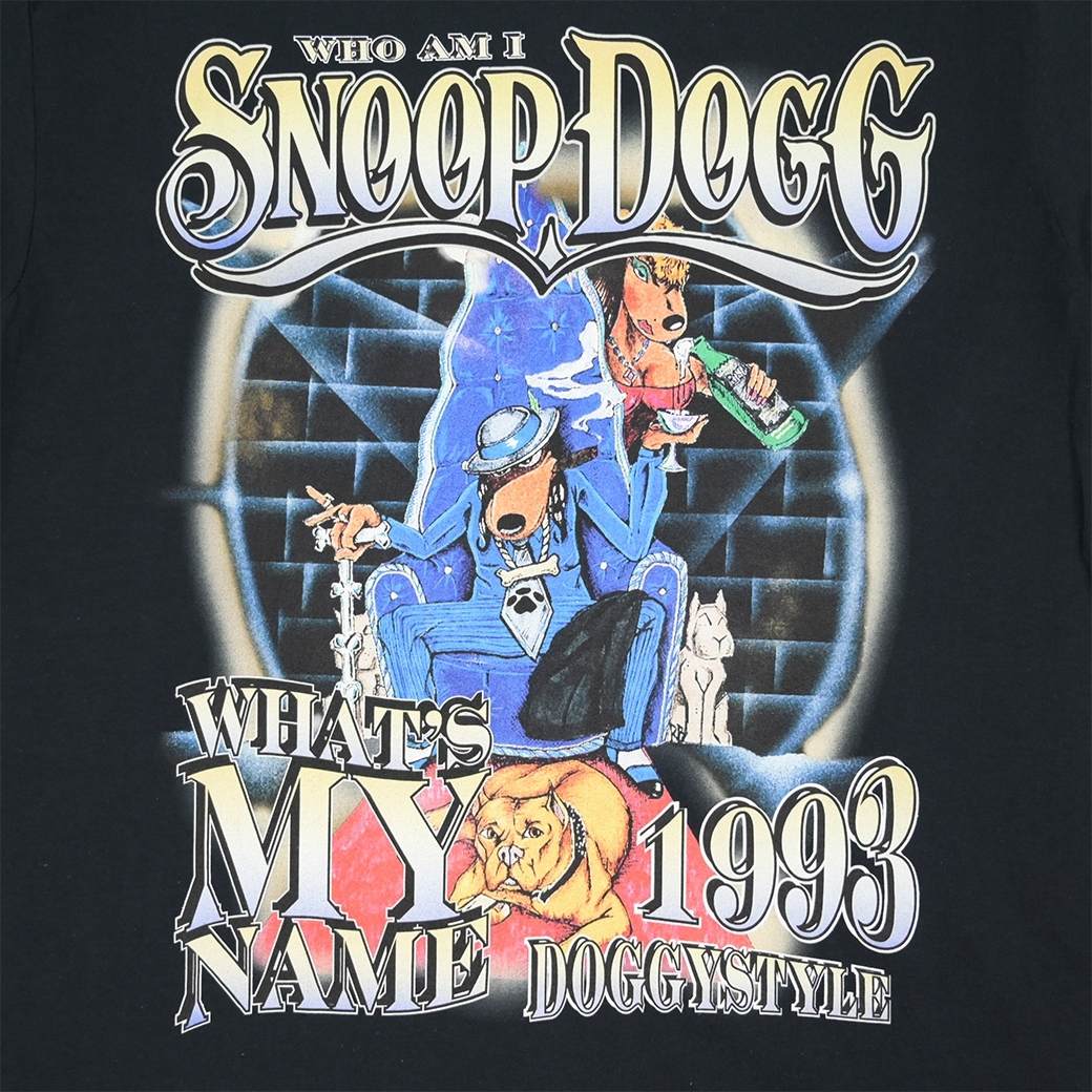 HOMAGE SNOOP DOGGYSTYLE WHATS MY NAME TEE BLACK
