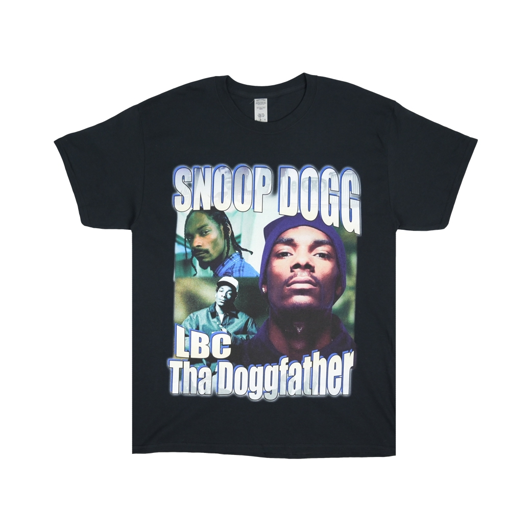 HOMAGE SNOOP DOG THA DOGFATHER TEE BLACK