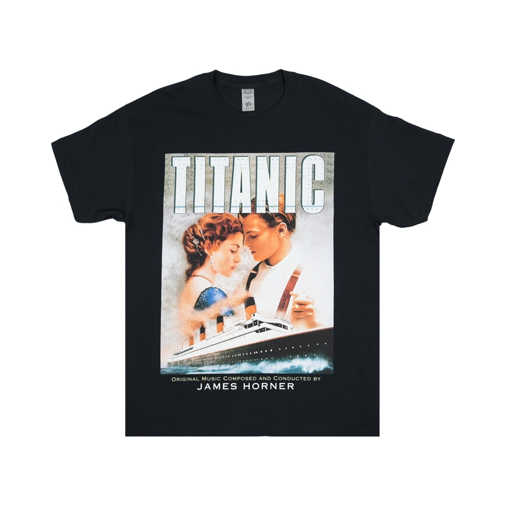 HOMAGE TITANIC TEE BLACK