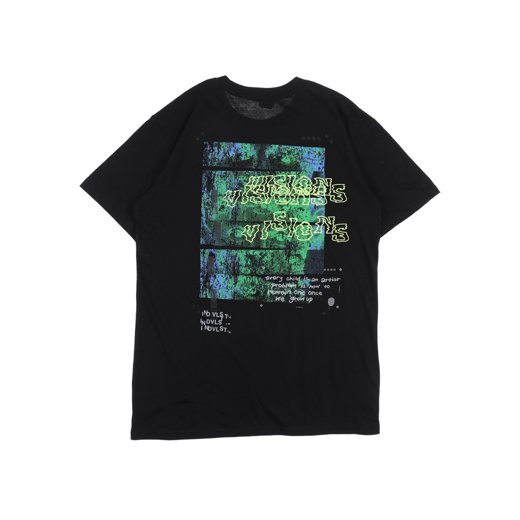 INDVLST EYES TEE BLACK