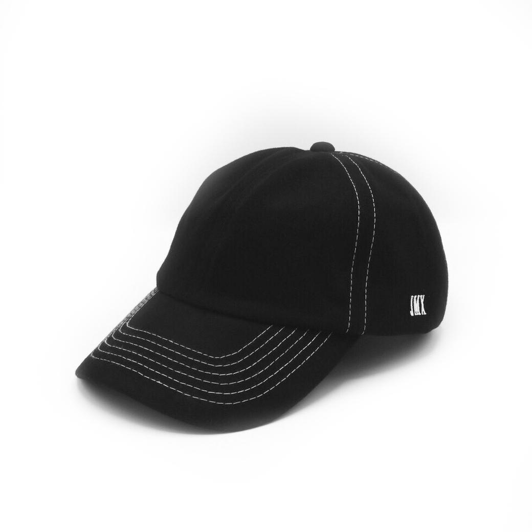 JMILLEX STUDIO HEADPIECE CAP BLACK