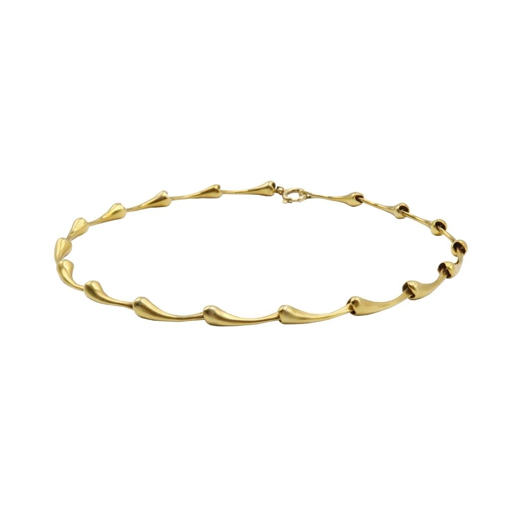 JMILLEX OSSEIN NECK LINE GOLD