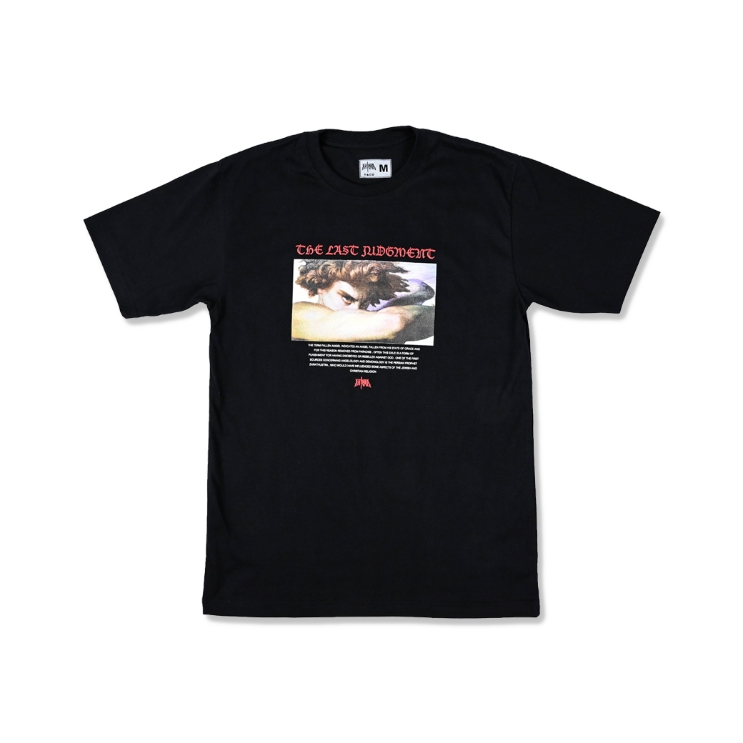 KARMA THE LAST JUDGEMENT TEE BLACK