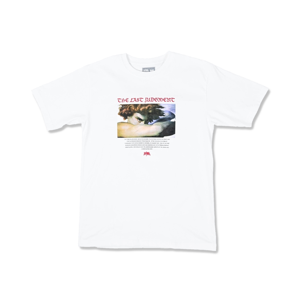 KARMA THE LAST JUDGEMENT TEE WHITE