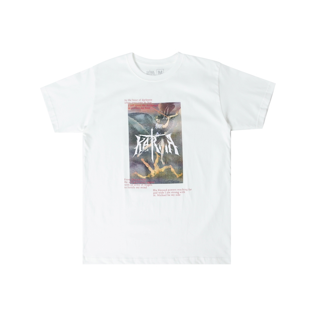 KARMA ARCHANGEL AND THE DEVIL TEE WHITE