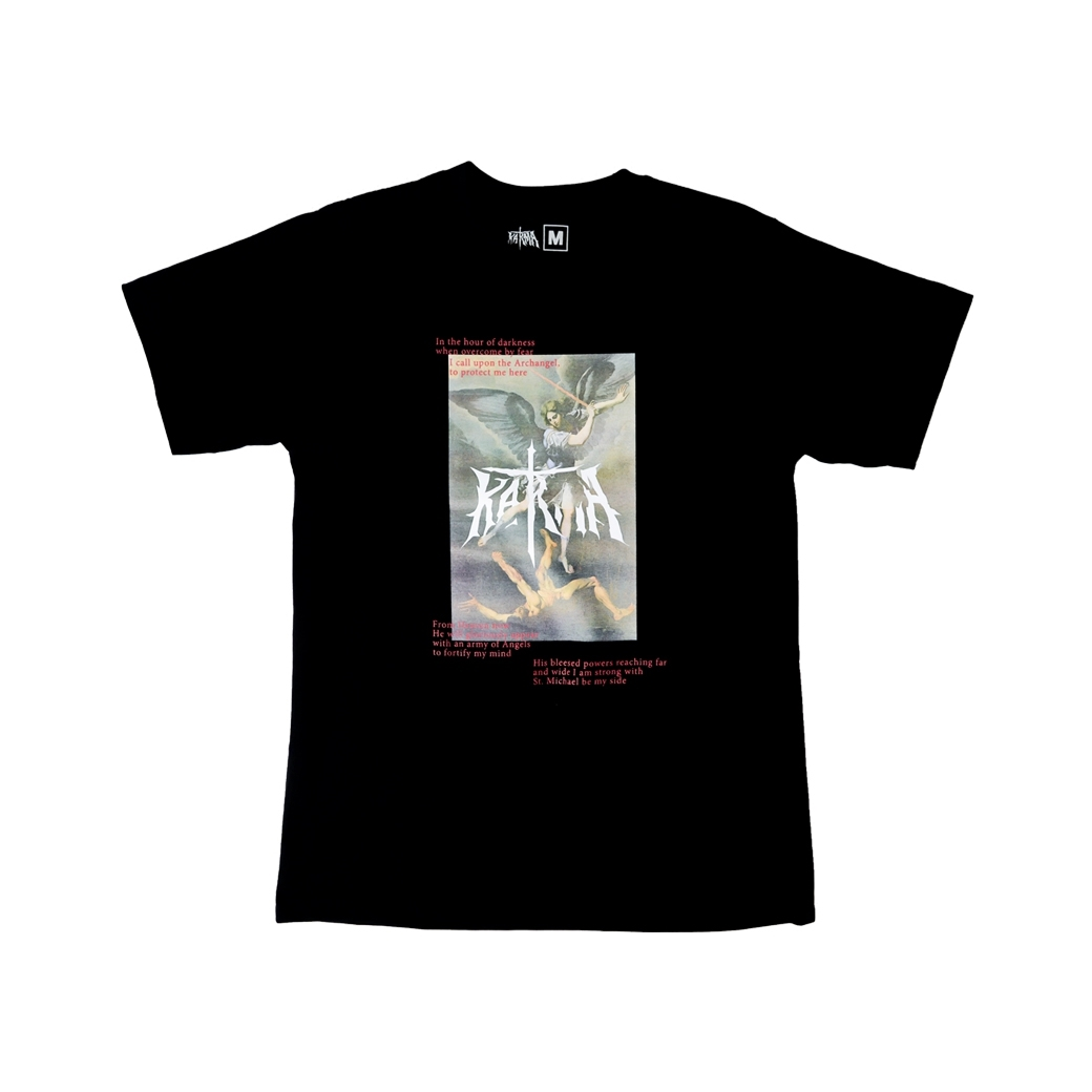 KARMA ARCHANGEL AND THE DEVIL TEE BLACK