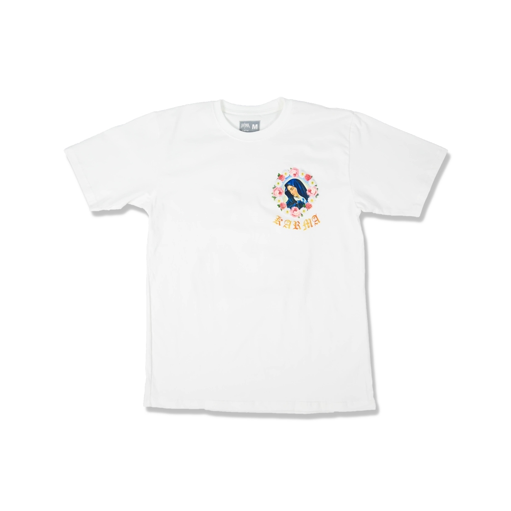 KARMA SAINT MARY TEE WHITE