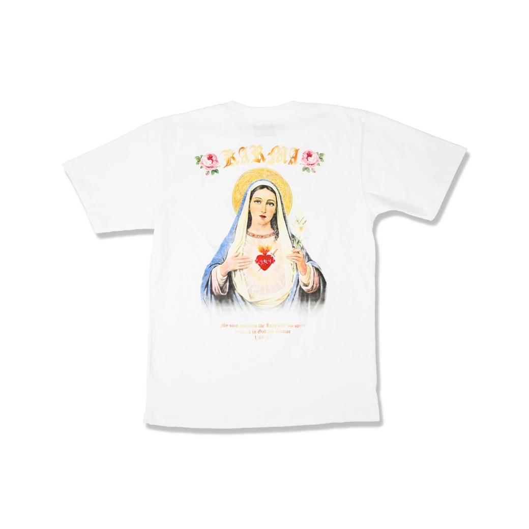 KARMA SAINT MARY TEE WHITE